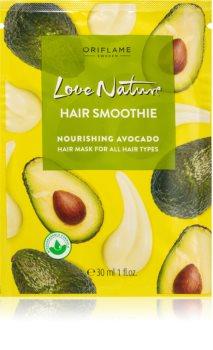 Oriflame Love Nature подхранваща маска  за всички видове коса