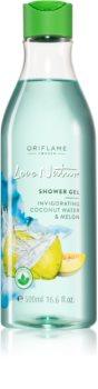 Oriflame Love Nature Coconut Water & Melon povzbuzující sprchový gel