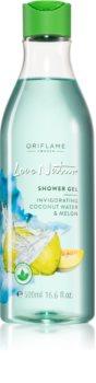 Oriflame Love Nature Coconut Water & Melon зареждащ с енергия душ гел