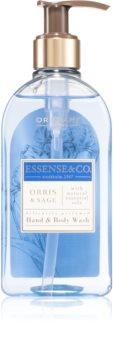 Oriflame Essense and Co Orris & Sage tisztító gél kézre és testre