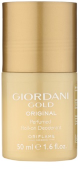 Oriflame Giordani Gold Original desodorante roll-on para mujer 50 ml