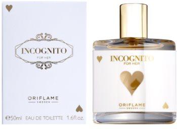 Oriflame Incognito Eau de Toilette para mulheres 50 ml