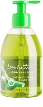 Oriflame Love Nature sabão liquido para mãos