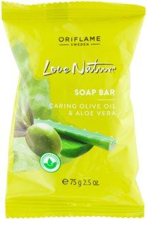 Oriflame Love Nature sabonete sólido com aloe vera