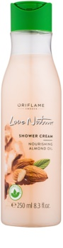 Oriflame Love Nature crema de ducha con aceite de almendras