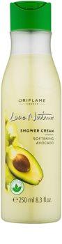 Oriflame Love Nature crema de ducha con aguacate