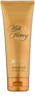 Oriflame Milk & Honey Gold exfoliante para manos