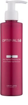 Oriflame Optimals loção facial para rosto e olhos 2 em 1