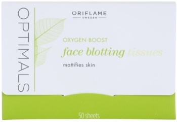 Oriflame Optimals Oxygen Boost toalhitas matificantes