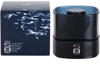 Oriflame S8 Night toaletní voda pro muže