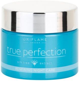Oriflame True Perfection crema de noche reparadora