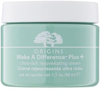 Origins Make A Difference™ creme rejuvenescedor para pele seca