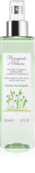 Orlane Bouquets d'Orlane Autour du Muguet orzeźwiająca woda włosów i ciała dla kobiet