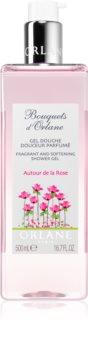 Orlane Bouquets d'Orlane Autour de la Rose felfrissítő tusfürdő gél