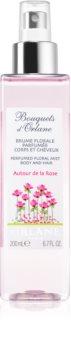 Orlane Bouquets d'Orlane Autour de la Rose orzeźwiająca woda do ciała i włosów dla kobiet