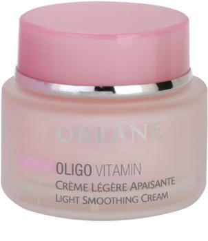 Orlane Oligo Vitamin Program crème légère adoucissante peaux sensibles