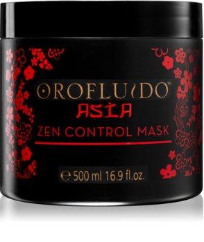 Orofluido Asia Zen подхранваща маска  за непокорна коса