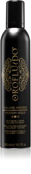 Orofluido Beauty пяна за обем средна фиксация
