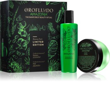 Orofluido Amazonia™ set cadou (pentru par deteriorat) editie limitata