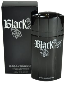 Paco Rabanne Black XS loción after shave para hombre 100 ml