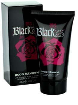 Paco Rabanne Black XS  For Her leche corporal para mujer 150 ml