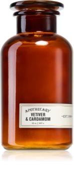 Paddywax Apothecary Vetiver & Cardamom vonná svíčka velké balení