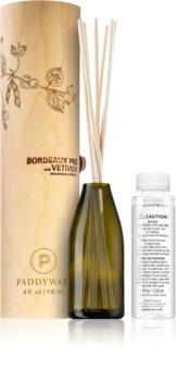 Paddywax Eco Green Bordeaux Fig & Vetiver diffuseur d'huiles essentielles avec recharge