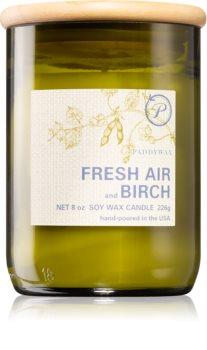 Paddywax Eco Green Fresh Air & Birch illatos gyertya