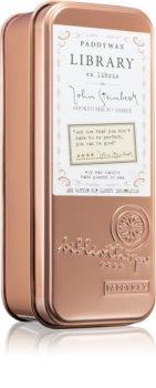Paddywax Library John Steinbeck bougie parfumée
