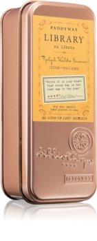 Paddywax Library Ralph Waldo Emerson vela perfumada