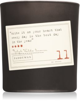 Paddywax Library Ralph Waldo Emerson lumânare parfumată  I.