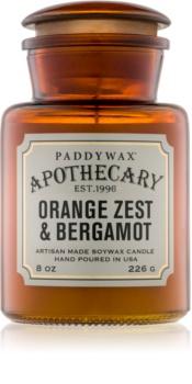 Paddywax Apothecary Orange Zest & Bergamot scented candle