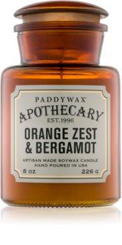 Paddywax Apothecary Orange Zest & Bergamot ароматна свещ