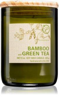 Paddywax Eco Green Bamboo & Green Tea bougie parfumée