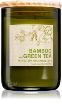 Paddywax Eco Green Bamboo & Green Tea αρωματικό κερί