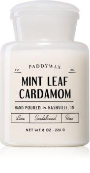 Paddywax Farmhouse Mint Leaf & Cardamom vonná svíčka (Apothecary)