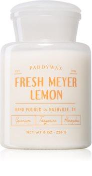 Paddywax Farmhouse Fresh Meyer Lemon ароматическая свеча (Apothecary)