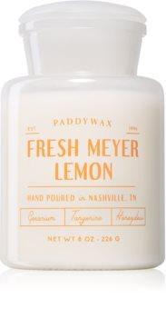 Paddywax Farmhouse Fresh Meyer Lemon bougie parfumée (Apothecary)