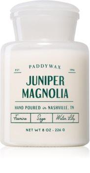 Paddywax Farmhouse Juniper Magnolia vonná svíčka (Apothecary)