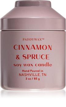 Paddywax Whimsy Cinnamon & Spruce bougie parfumée