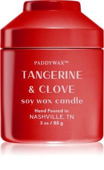 Paddywax Whimsy Tangerine & Clove bougie parfumée