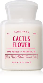 Paddywax Farmhouse Cactus Flower scented candle