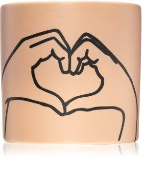 Paddywax Impressions Tobacco & Vanilla bougie parfumée (Love Ya)