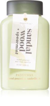 Paddywax Lolli Sandal Wood & Spearmint bougie parfumée