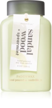 Paddywax Lolli Sandal Wood & Spearmint αρωματικό κερί