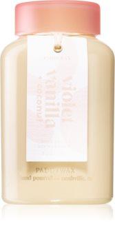 Paddywax Lolli Violet Vanilla & Coconut bougie parfumée