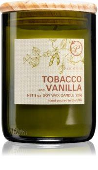 Paddywax Eco Green Tabacco & Vanilla vonná svíčka