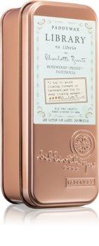 Paddywax Library Charlotte Bronte bougie parfumée