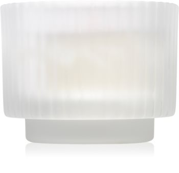 Paddywax White Ribbed Glass duftlys I.