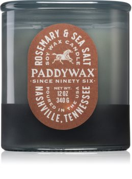 Paddywax Vista Rosemary & Sea Salt αρωματικό κερί